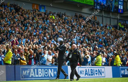 Editorial image of Brighton and Hove Albion v Manchester City, Premier League, Football, American Express Community Stadium, Brighton, UK - 12 May 2019