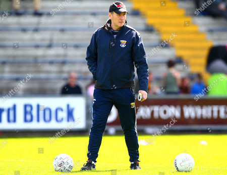 Stock Image of Wexford vs Louth. Wexford manager Paul McLoughlin