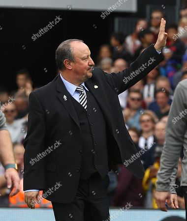Editorial image of Fulham v Newcastle United, Premier League, Football, Craven Cottage, London, UK - 12 May 2019