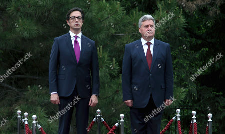 Editorial picture of North New President, Skopje, Macedonia - 12 May 2019