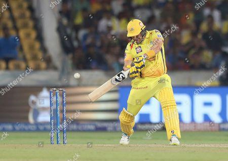 Editorial photo of Cricket VIVO IPL 2019, Hyderabad, India - 12 May 2019