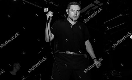 Editorial photo of The Twilight Sad in concert at Elsewhere, New York, USA - 12 May 2019