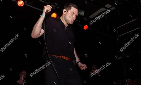 Editorial picture of The Twilight Sad in concert at Elsewhere, New York, USA - 12 May 2019