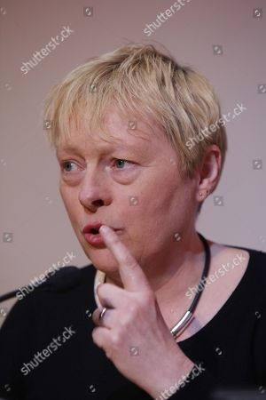 Stock Image of Angela Eagle MP speaking at the Progress Annual Conference.
