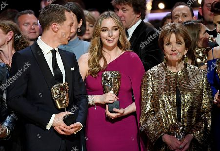 Benedict Cumberbatch - Leading Actor - 'Patrick Melrose', Jodie Comer - Leading Actress - 'Killing Eve' and Joan Bakewell - Fellowship