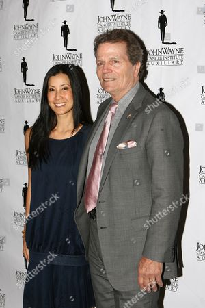 Patrick Wayne and Lisa Ling