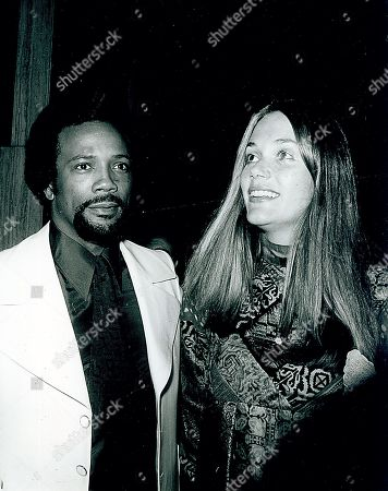 Editorial photo of Peggy Lipton and Quincy Jones archive photo - 1974