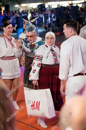 Verka Serduchka of Ukraine