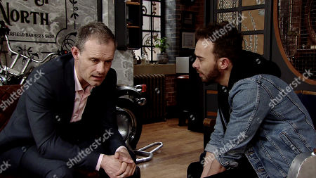 Ep 9774 Monday 20th May 2019 - 1st Ep With the police breathing down their neck Nick Tilsley, as played by Ben Price, tells David Platt, as played by Jack P Shepherd, he needs to keep Natalie sweet.
