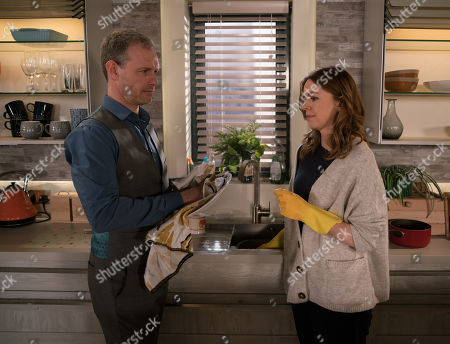 Ep 9775 Monday 20th May 2019 - 2nd Ep Seeing how upset Toyah Battersby, as played by Georgia Taylor, is after her bust up with Imran Leanne tells Nick Tilsley, as played by Ben Price, she has invited her to move in and that she was only telling Imran she believed Nick was involved in the factory collapse to humour Imran. Nick is furious and as Toyah makes herself at home Nick lets her know he doesn't trust her.