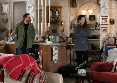 Ep 9773 Friday 17th May 2019 - 2nd Ep With Peter Barlow, as played by Chris Gascoyne, and Carla Connor, as played by Alison King.