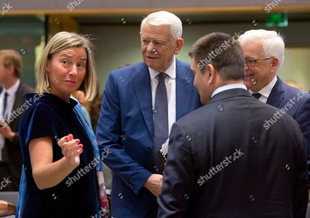 Editorial photo of EU Foreign Ministers, Brussels, Belgium - 13 May 2019