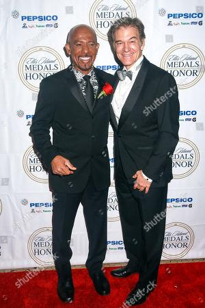 Montel Williams and Dr Mehmet Oz