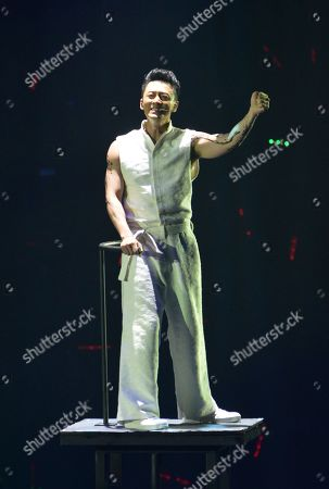 Editorial image of Raymond Lam in concert, Macao,China - 11 May 2019