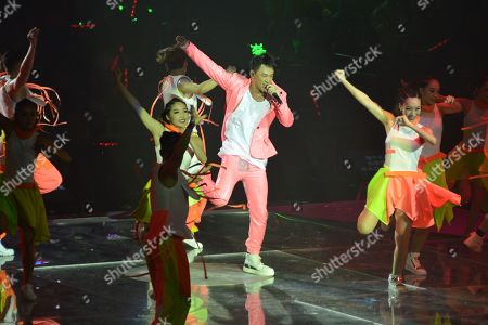 Editorial picture of Raymond Lam in concert, Macao,China - 11 May 2019