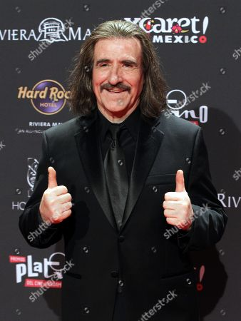 Luis Cobos attends the sixth Platino Awards ceremony at the Xcaret park in Playa del Carmen, Riviera Maya, Mexico, 12 May 2019 (issued 13 May 2019).