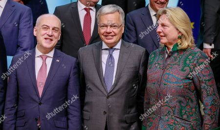 Editorial photo of European Union Foreign Affairs Council, Brussels, Belgium - 13 May 2019