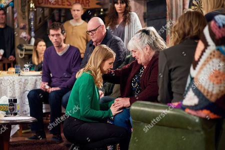 Ep 8474 Monday 13 May 2019 Zak Dingle, as played by Steve Halliwell, and Lisa Dingle, as played by Jane Cox, are overwhelmed by the reception and Lisa begins to feel the pressure of telling the family the real reason they're back. When Charity gets upset, Belle Dingle, as played by Eden Taylor-Draper, grows concerned and Lisa finally reveals she's dying. The shocked Dingles struggle to process the news and Belle's hurt to find out that Charity knew about Lisa's illness all along.
