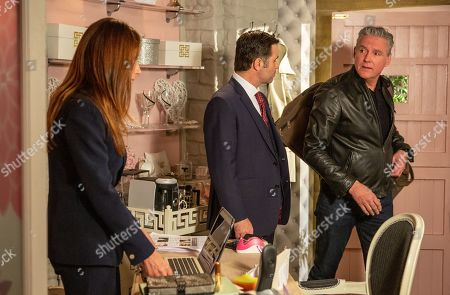 Ep 8490 Wednesday 29th May 2019 Graham Foster, as played by Andrew Scarborough, visits a grateful Megan Macey, as played by Gaynor Faye, and gives her a blank cheque, but when Frank, as played by Michael Praed, arrives, she is not sure how to explain the situation. Will Megan tell the truth? And how will Frank take it?