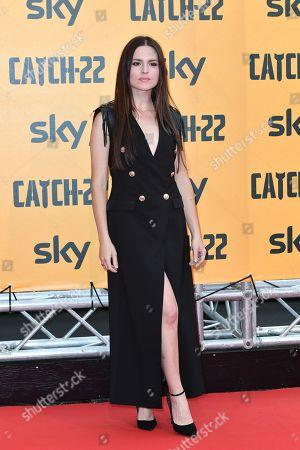 Ivana Lotito at the premiere