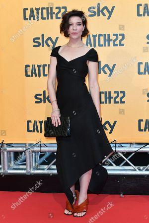 Tessa Ferrer at the premiere