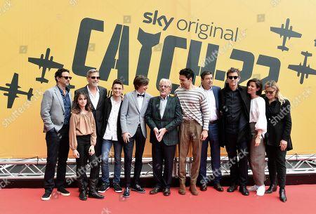 Grant Heslov, George Clooney, Giancarlo Giannini, Christopher Abbott, Kyle Chandler, Tessa Ferrer, Luke Davies, Richard Brown
