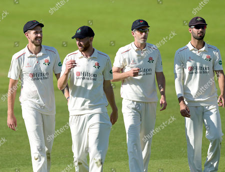 Lancs Fab Four - Tom Bailey Richard Gleeson Graham Onions and Saqib Mahmood
