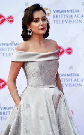 Keeley Hawes attends the Virgin Media British Academy Television Awards at the Royal Festival Hall in London, Britain, 12 May 2019. The ceremony is hosted by the British Academy of Film and Television Arts (BAFTA).