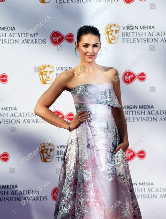 Anna Passey attends the Virgin Media British Academy Television Awards at the Royal Festival Hall in London, Britain, 12 May 2019. The ceremony is hosted by the British Academy of Film and Television Arts (BAFTA).