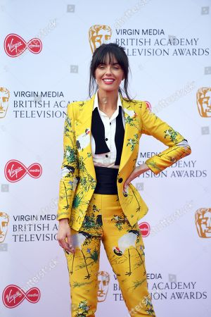 Jennifer Metcalfe attends the Virgin Media British Academy Television Awards at the Royal Festival Hall in London, Britain, 12 May 2019. The ceremony is hosted by the British Academy of Film and Television Arts (BAFTA).