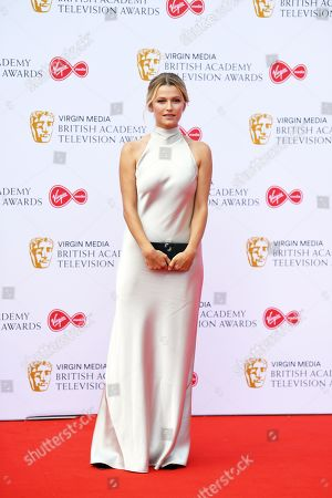 Lily Travers attends the Virgin Media British Academy Television Awards at the Royal Festival Hall in London, Britain, 12 May 2019. The ceremony is hosted by the British Academy of Film and Television Arts (BAFTA).