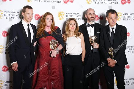 Editorial photo of Press Room - 2019 Virgin Media British Academy Television Awards, London, United Kingdom - 12 May 2019