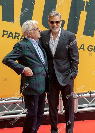 George Clooney with Giancarlo Giannini
