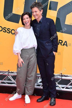 Tessa Ferrer and Richard Brown