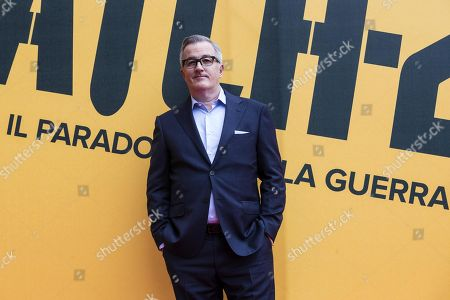 Luke Davies poses during the photocall of Sky Tv series 'Catch-22', in Rome, Italy, 13 May 2019.