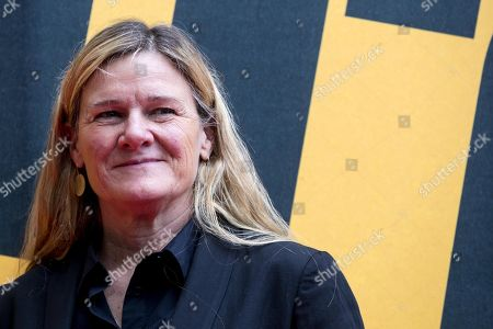 US director of photography and director Ellen Kuras poses during the photocall of Sky Tv series 'Catch-22', in Rome, Italy, 13 May 2019.