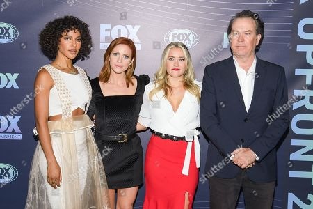 Megalyn Echikunwoke, Brittany Snow, Emily Osment and Timothy Hutton