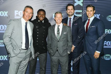 Stock Image of Urban Meyer, Reggie Bush, Rob Stone, Matt Leinart and Brady Quinn