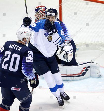 Editorial image of Ice Hockey Worlds, Kosice, Slovakia - 13 May 2019