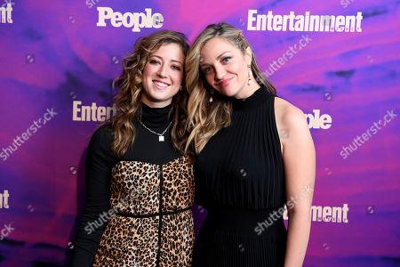 Jessy Hodges and Abby Elliott