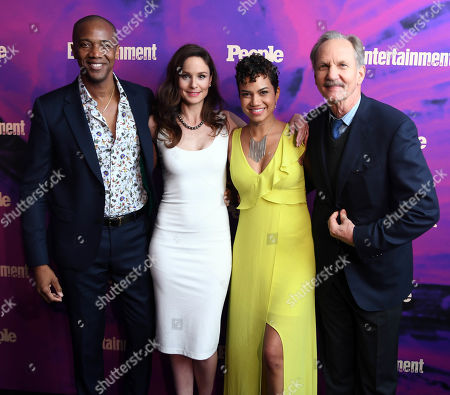 J. August Richards, Sarah Wayne Callies, Michele Weaver, and Michael O'Neill