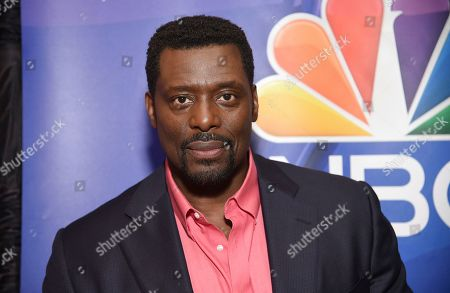 """Eamonn Walker, from the cast of """"Chicago Fire,"""" attends the NBC 2019/2020 Upfront at The Four Seasons New York on"""