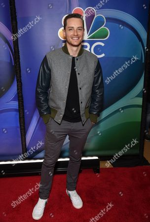"Jesse Lee Soffer, from the cast of ""Chicago P.D.,"" attends the NBC 2019/2020 Upfront at The Four Seasons New York on"