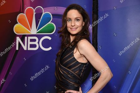 "Sarah Wayne Callies, from the cast of ""Council of Dads,"" attends the NBC 2019/2020 Upfront at The Four Seasons New York on"
