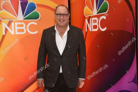 """James Spader, from the cast of """"The Blacklist,"""" attends the NBC 2019/2020 Upfront at The Four Seasons New York on"""