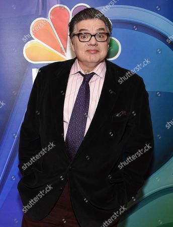 "Oliver Platt, from the cast of ""Chicago Med,"" attends the NBC 2019/2020 Upfront at The Four Seasons New York on"