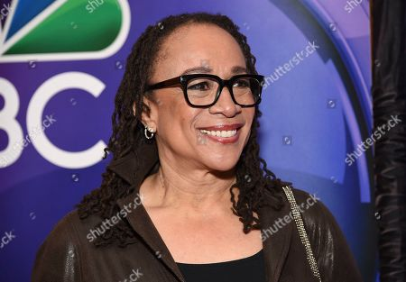 """S. Epatha Merkerson, from the cast of """"Chicago Med,"""" attends the NBC 2019/2020 Upfront at The Four Seasons New York on"""