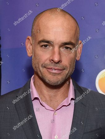 "Paul Blackthorne, from the cast of ""The InBetween,"" attends the NBC 2019/2020 Upfront at The Four Seasons New York on"