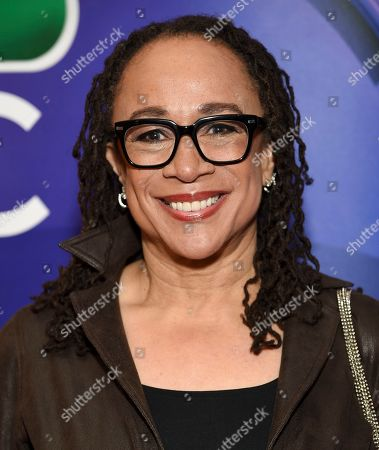 S. Epatha Merkerson attends the NBC 2019/20 Upfront at The Four Seasons New York, in New York