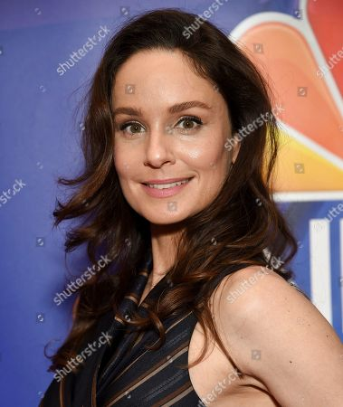 Sarah Wayne Callies attends the NBC 2019/20 Upfront at The Four Seasons New York, in New York